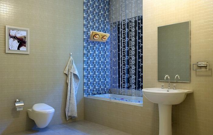 Đèn sưởi nhà tắm là rất quan trọng trong ngày mùa đông