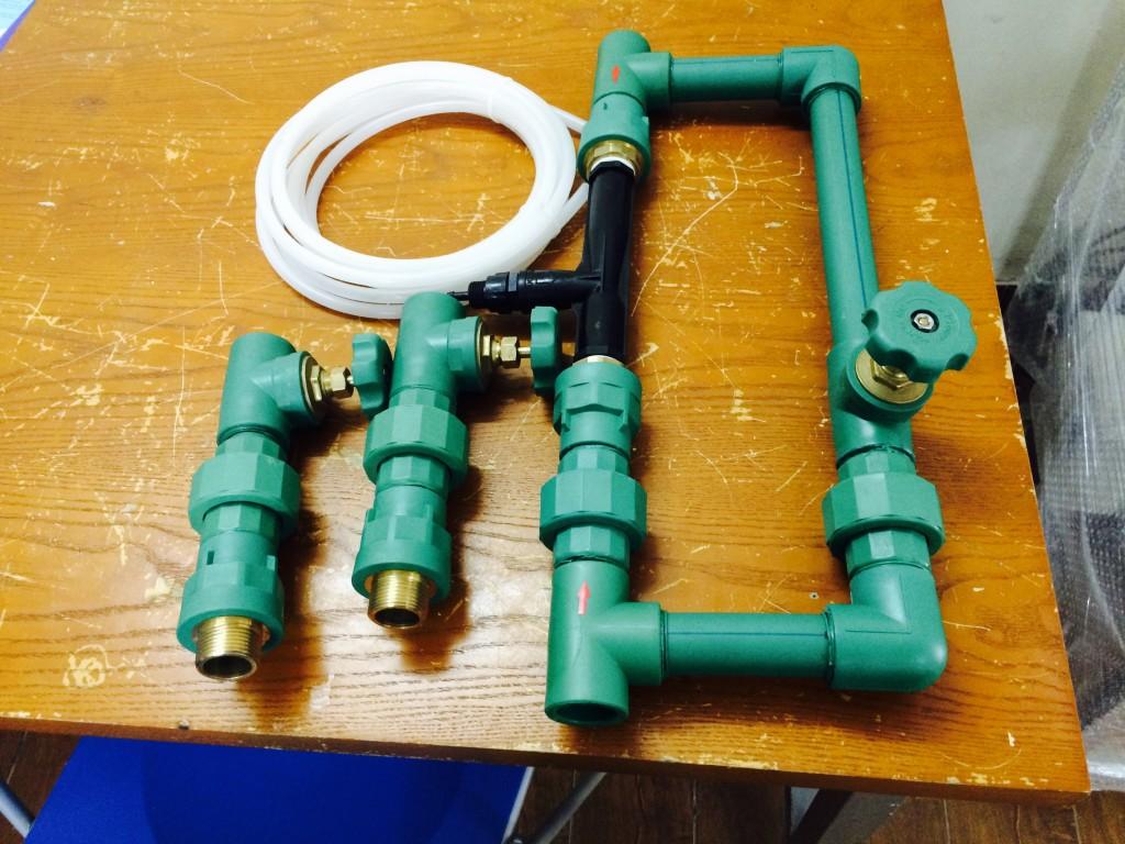 Hình ảnh bộ trộn khí ozone vào nước chuyên dụng - Injector phi 34