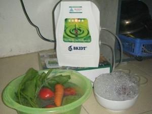 Một trong những máy ozone hiện đang được sử dụng trong các gia đình