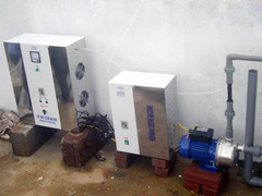 Hệ thống máy ozone gia đình